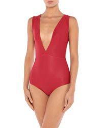 Haight One-piece Swimsuit - Red
