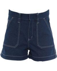 Chloé Short en jean - Bleu