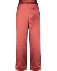 Gestuz Pantalone - Rosso