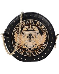 Balmain Cross-body Bag - Black