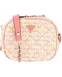 Guess Cross-body Bag - Pink