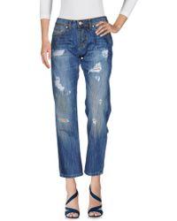 Boutique De La Femme - Denim Pants - Lyst