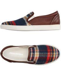 DSquared² Low Sneakers & Tennisschuhe - Blau
