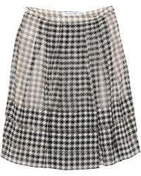 Dior Mini Skirt - White
