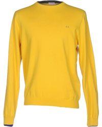 Sun 68 Sweater - Yellow