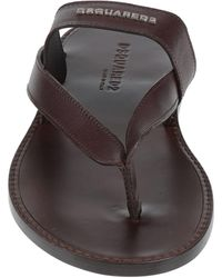 DSquared² Toe Post Sandals - Brown