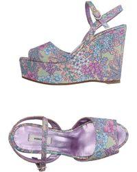 Manoush Sandals - Purple