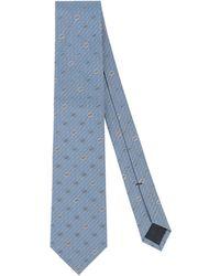 Gucci Corbata - Azul