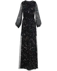 Les Copains Vestido largo - Negro