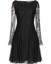 Blumarine Short Dress - Black