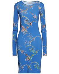 Preen By Thornton Bregazzi Kurzes Kleid - Blau