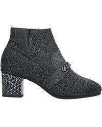 Loretta Pettinari Ankle Boots - Grey