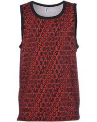 Moschino - Sleeveless Undershirt - Lyst