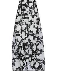 Masnada Long Skirt - White