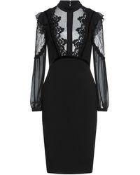 EUREKA by BABYLON Midi Dress - Black
