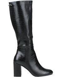 Romeo Gigli Knee Boots - Black