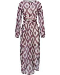 Bazar Deluxe Vestido a media pierna - Morado