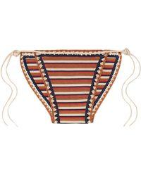 Solid & Striped X Re/Done Bikini Bottom - Multicolour