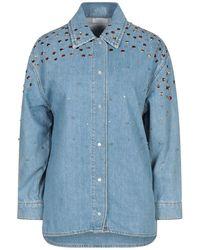 Sandro Denim Shirt - Blue