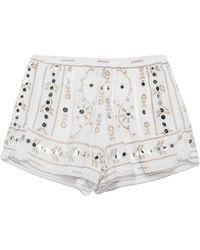 Juliet Dunn Shorts - Blanco
