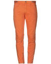 Paura Denim Pants - Orange