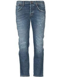 People Denim Trousers - Blue