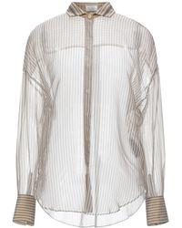 Brunello Cucinelli Shirt - Natural