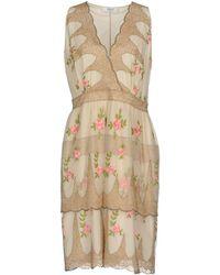 Blugirl Blumarine Knee-length Dress - Natural