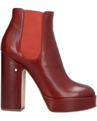 Laurence Dacade Stiefelette - Rot