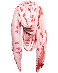 Alexander McQueen Square Scarf - Pink