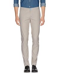 Dimattia Casual Trousers - Grey