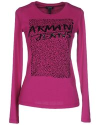 Armani Jeans T-shirt - Pink