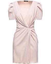 Carla G Short Dress - Natural