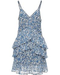 Victoria, Victoria Beckham Short Dress - Blue