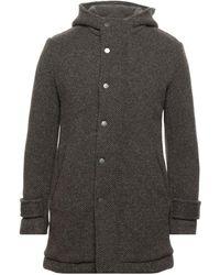 DISTRETTO 12 Coat - Grey