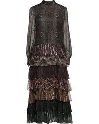 Celine Vestido largo - Multicolor