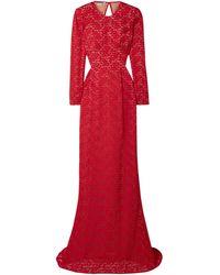 Stella McCartney Vestito lungo - Rosso
