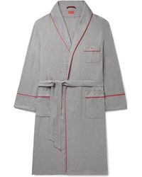 Isaia Dressing Gown - Grey