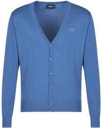 Armani Jeans - Cardigan - Lyst