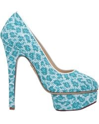 Charlotte Olympia Court - Blue