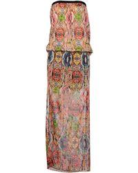 Manila Grace Long Dress - Pink