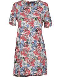 Tenki - Short Dress - Lyst