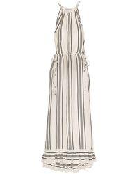 Apiece Apart Robe longue - Blanc