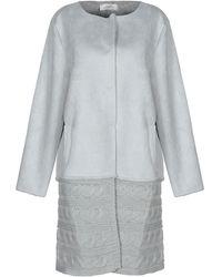 Ivories Coat - Grey