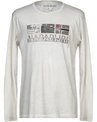 Napapijri T-shirt - Natural