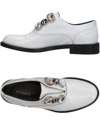 Pinko Loafers - White