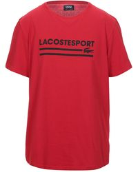 Lacoste Sport T-shirt - Rosso