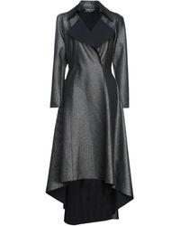La Petite Robe Di Chiara Boni Mantel - Schwarz