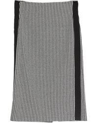 Imperial Midi Skirt - Black