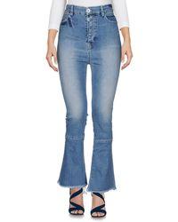 Unravel Project Denim Trousers - Blue